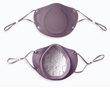 Purple Silicone Mask