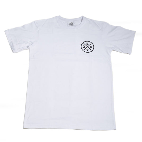 Deys Circle Perfect Fit Tee White