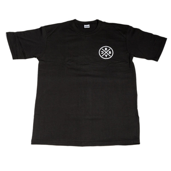 Deys Circle Perfect Fit Tee Black