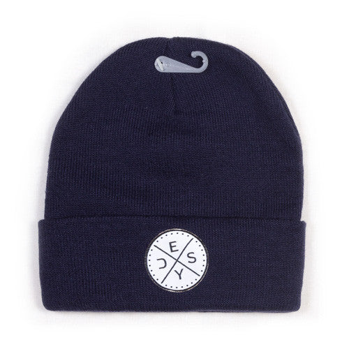 Deys Perfect Fit Beanie Navy