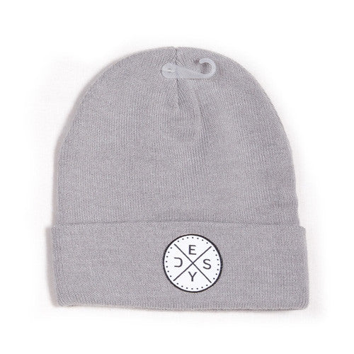 Deys Perfect Fit Beanie Grey