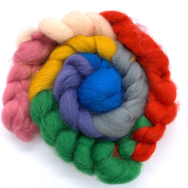 Ashford CORRIEDALE Wool Roving SETS