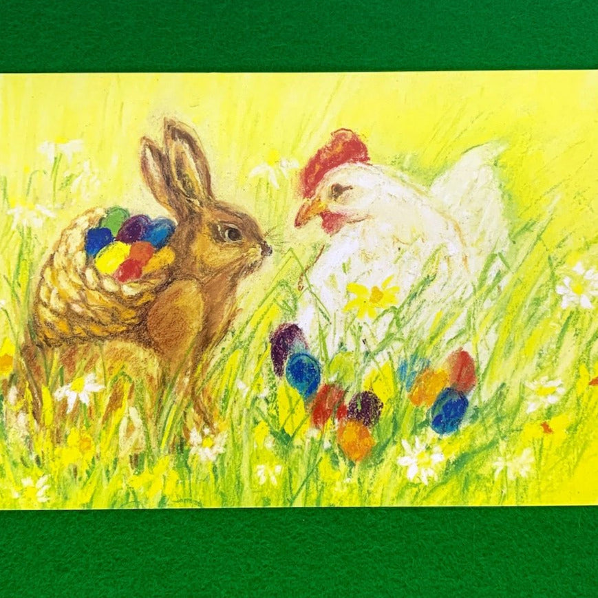 SPRING & EASTER CELEBRATIONS Postcards by Marjan van Zeyl