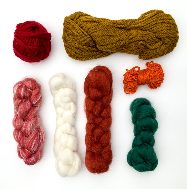 Maplerose Weaving FIBRE PACKS