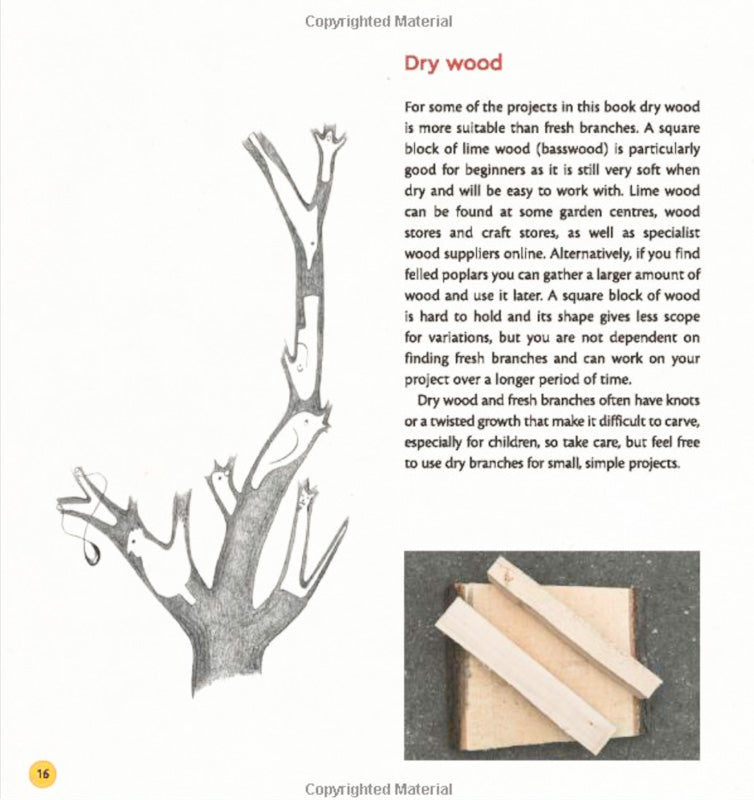 EASY WOOD CARVING FOR CHILDREN By Frank Egholm