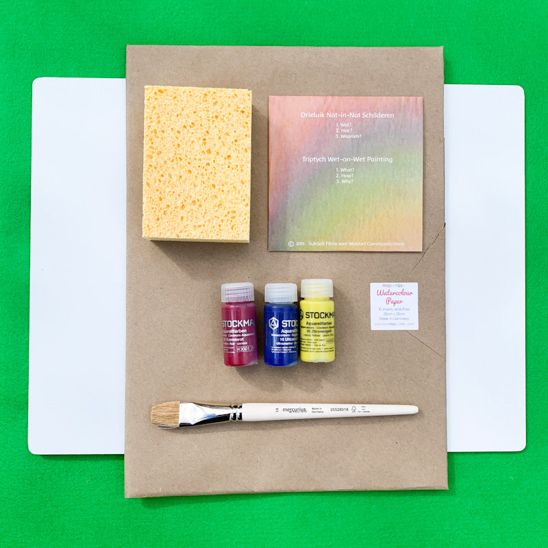 Maplerose Wet-On-Wet BASIC WATERCOLOUR Set