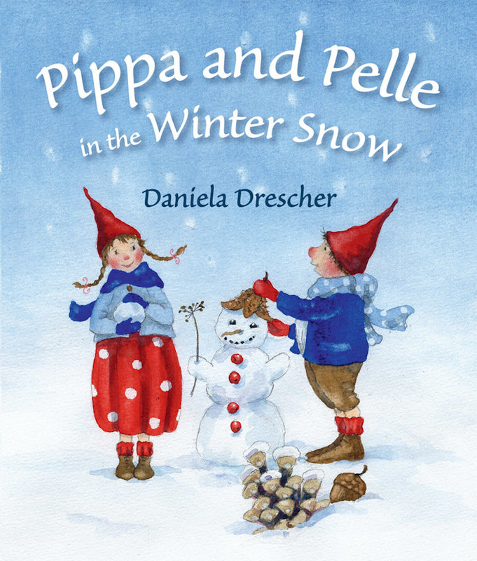 PIPPA & PELLE IN THE WINTER SNOW By Daniella Drescher