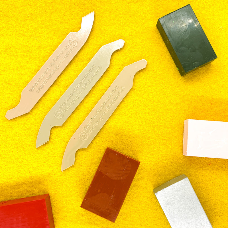 Stockmar Beeswax Crayon SCRAPERS