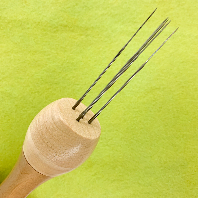 Ashford Wooden 5 NEEDLE PUNCH with 5 needles