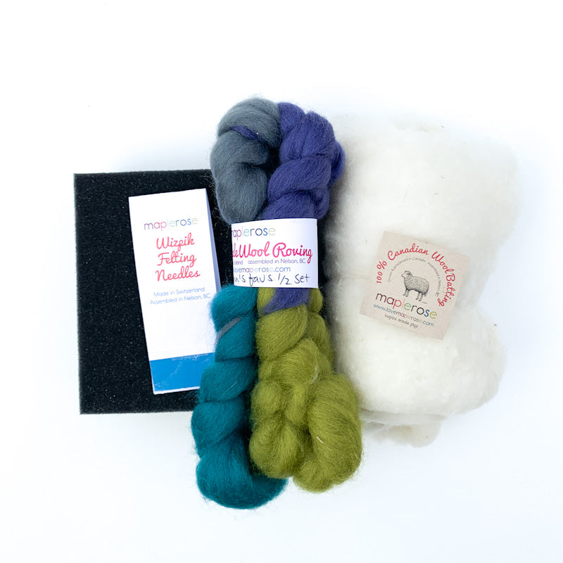 Maplerose STARTER Needle Felting Bundle
