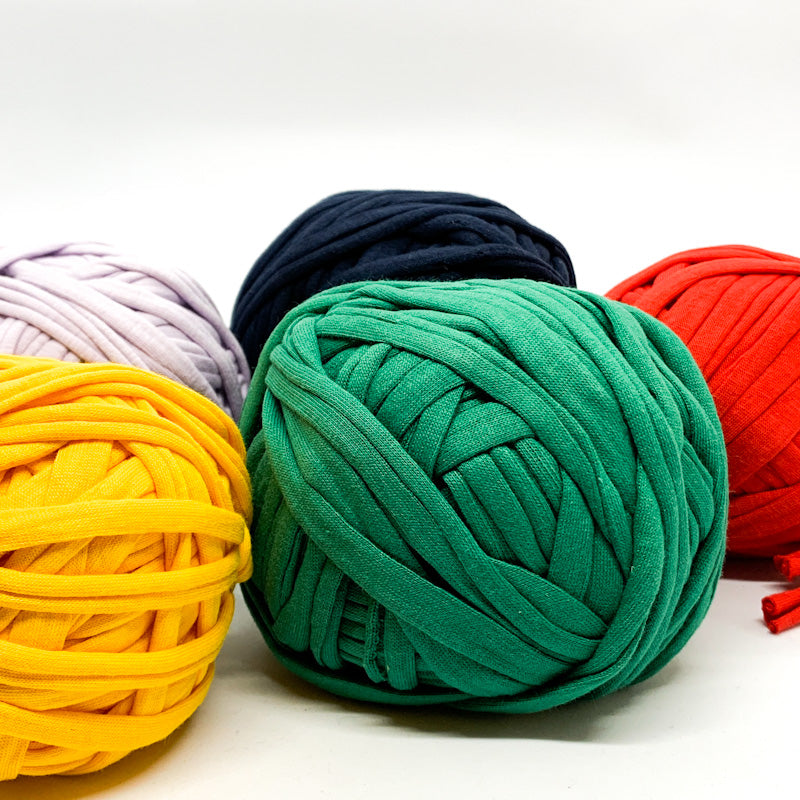 Cotton Knit T-shirt YARN Sets