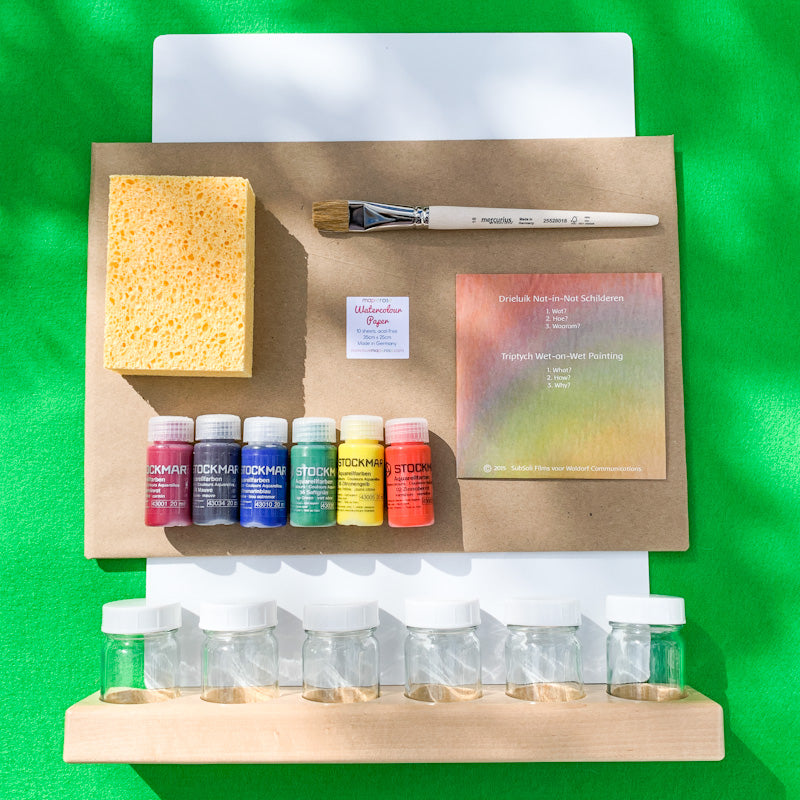 Maplerose Wet-On-Wet DELUXE WATERCOLOUR Set