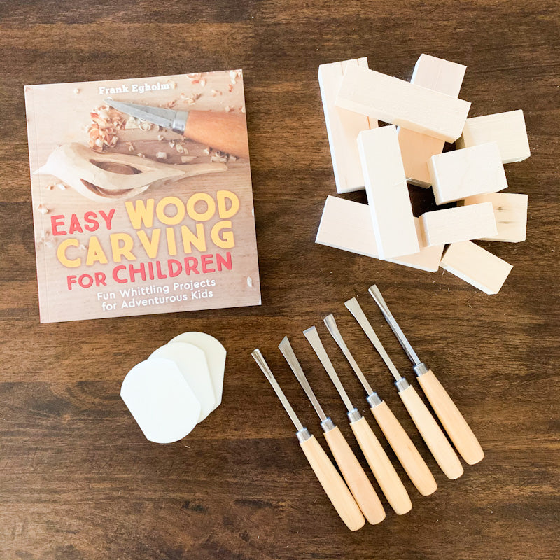 Deluxe WOOD CARVING Kit