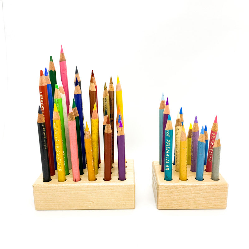 Wooden HOLDER for regular pencils