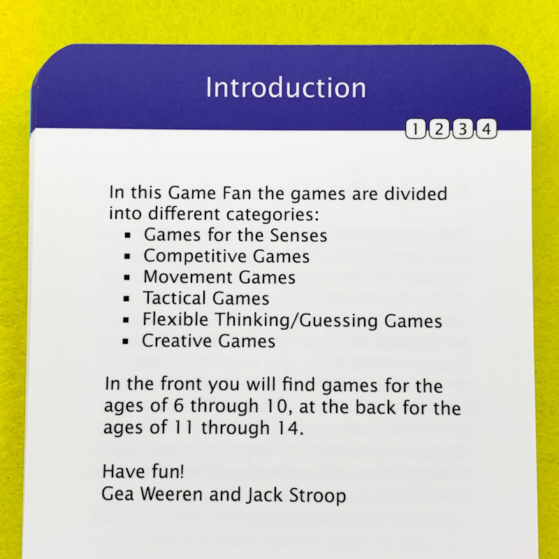 GAMES & ACTIVITIES Fan Booklet of Learning & Fun