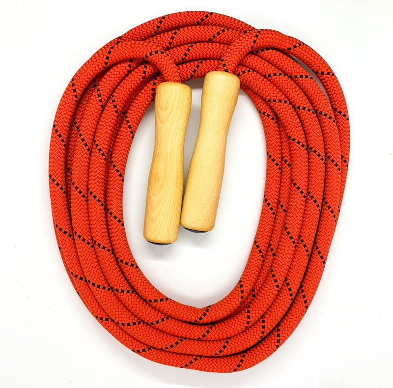 SKIPPING Rope with Wooden Handles - 6 meter
