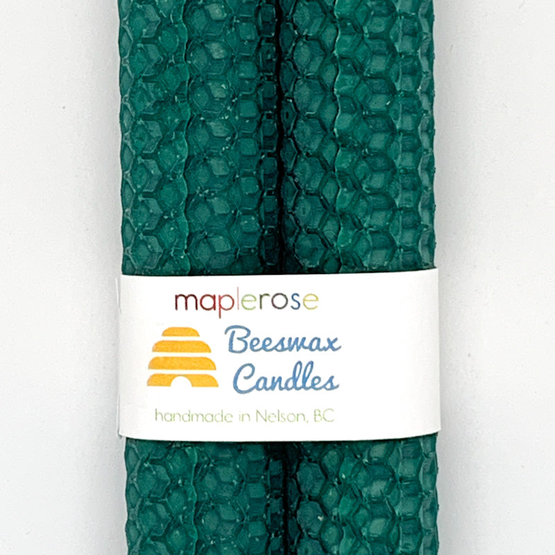 Maplerose Handmade Honeycomb Beeswax TAPER Candles