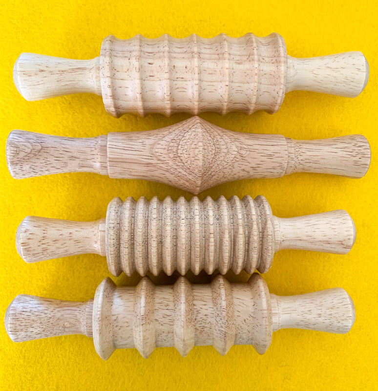 Wooden ROLLING PIN Set