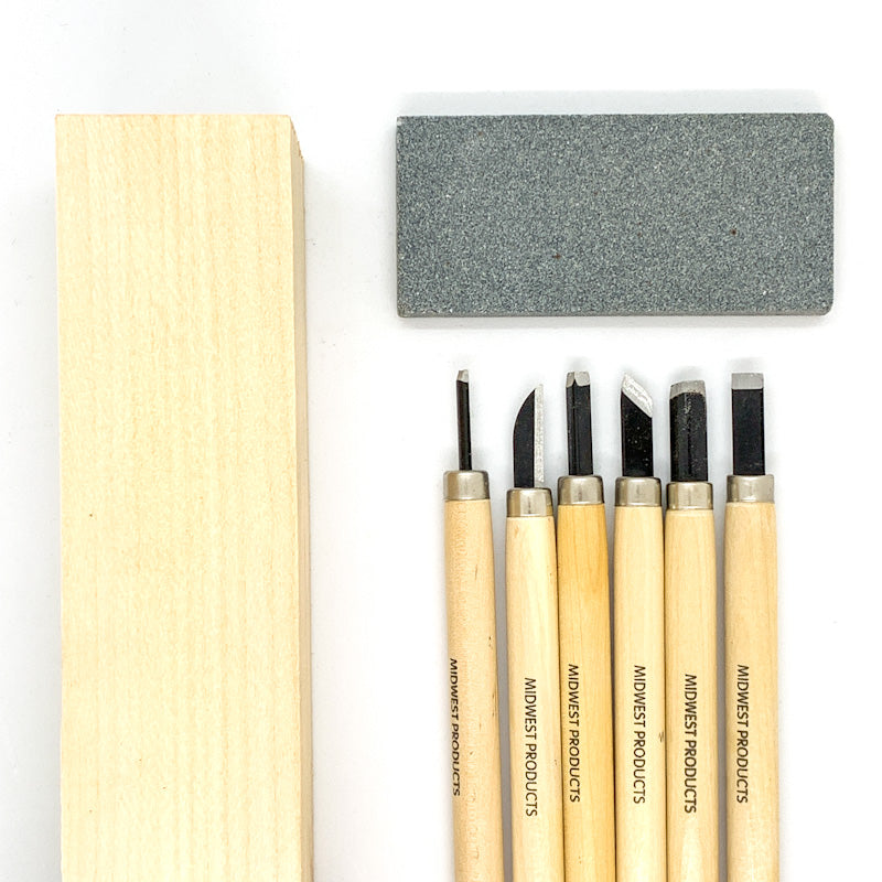 STARTER Wood Carving Kit