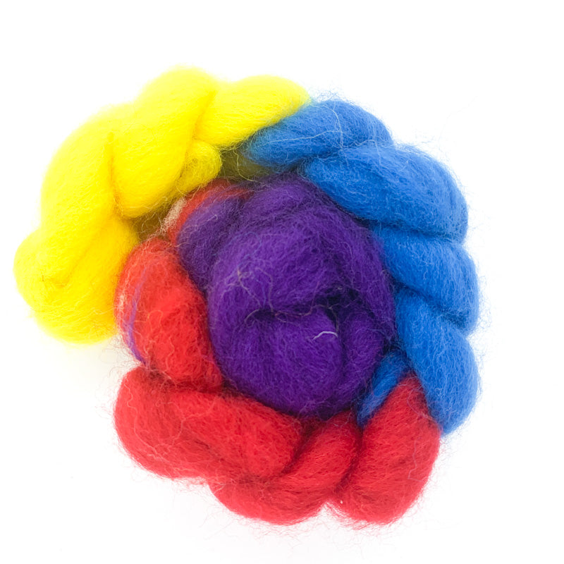 Corriedale Wool Roving HALF SETS