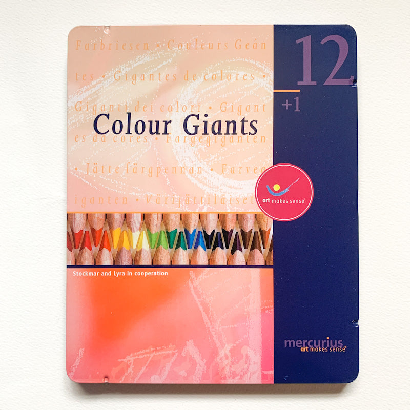 Mercurius COLOUR GIANT Pencil Crayon Sets