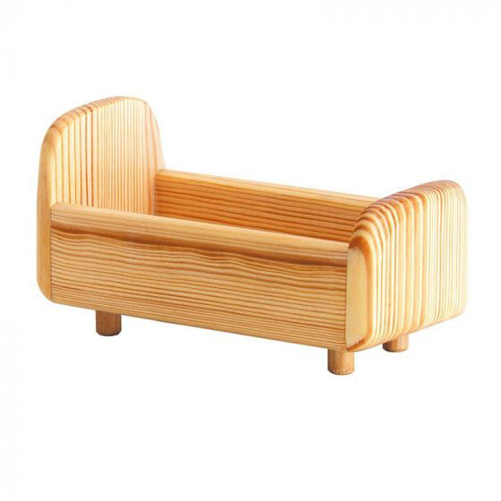 Debresk Wooden Toy DOLL BED