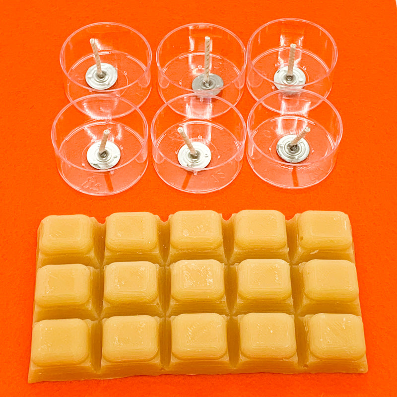 Maplerose Beeswax TEALIGHT Kit