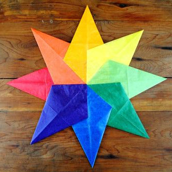 Maplerose Kite Paper STAR Folding Kit
