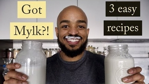 Plant Based Milk recipes With Seamoss