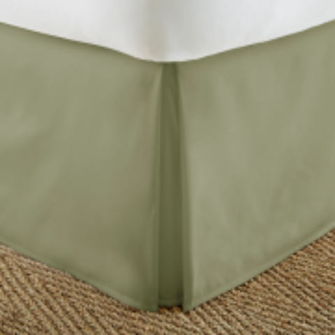Bed Skirt Sage - Linens Wholesale