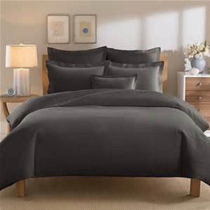 Duvet Cover Charcoal - Linens Wholesale
