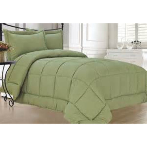 Down Alternative Comforter Sage
