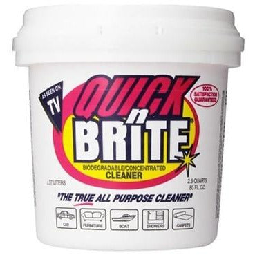 Quick N Brite 80oz Paste - Linens Wholesale