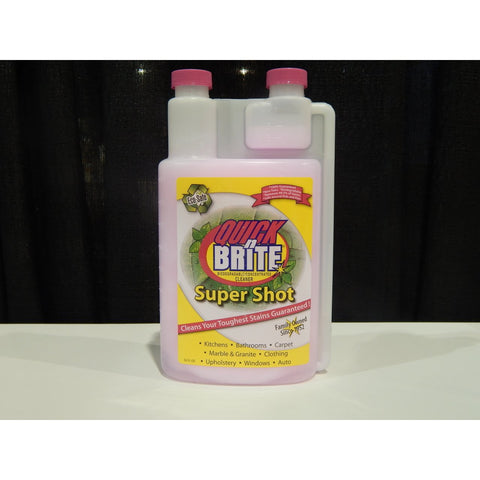 Quick N Brite 32oz Liquid - Linens Wholesale