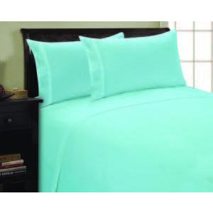 Rv/Short Queen Aqua - Linens Wholesale