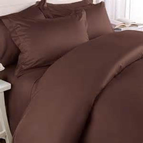Duvet Cover Chocolate - Linens Wholesale