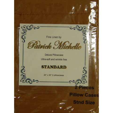 Carmel pillowcases - Linens Wholesale