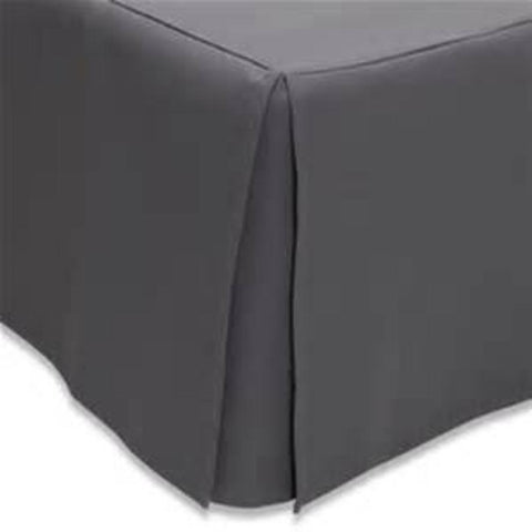 Bed Skirt Charcoal - Linens Wholesale