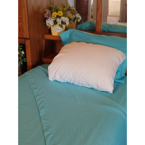 Patrick Michelle Beach Blue Sheet Set with corner straps - Linens Wholesale