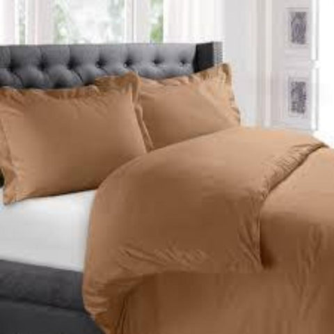 Duvet Cover Carmel - Linens Wholesale