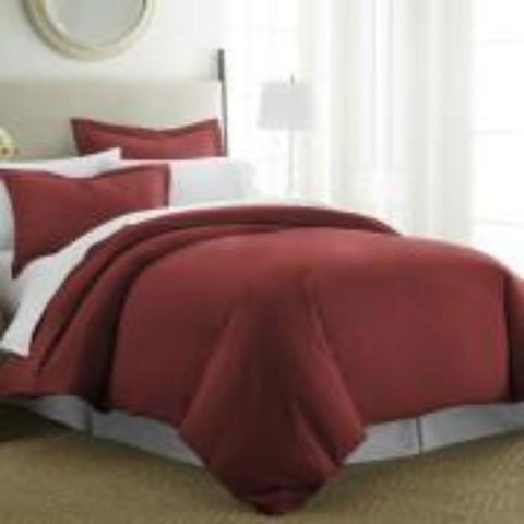 Duvet Cover Burgandy - Linens Wholesale
