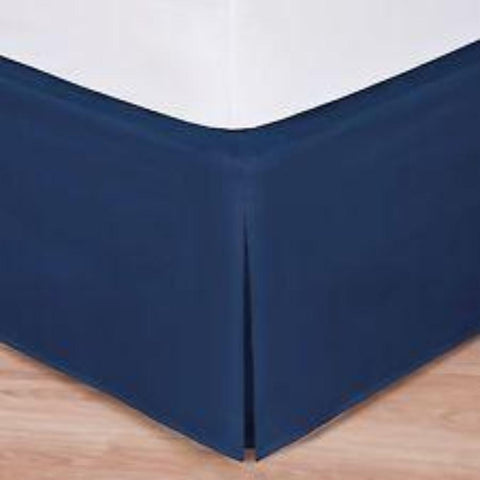 Bed Skirts Navy - Linens Wholesale