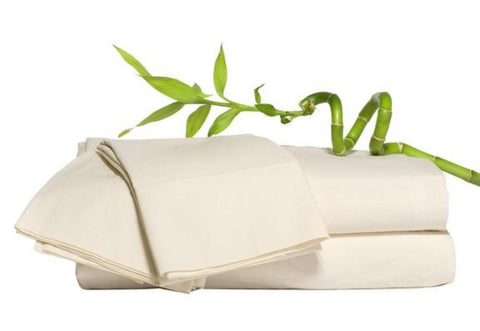 100% Bamboo Beige Sheet Sets with corner straps - Linens Wholesale