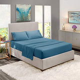 Patrick Michelle Blue Haven Sheet Sets with corner straps - Linens Wholesale
