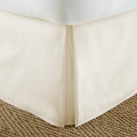 Bed Skirt Beige - Linens Wholesale