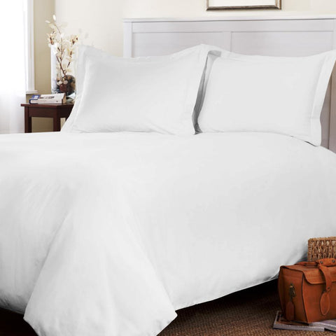 Duvet Cover White - Linens Wholesale