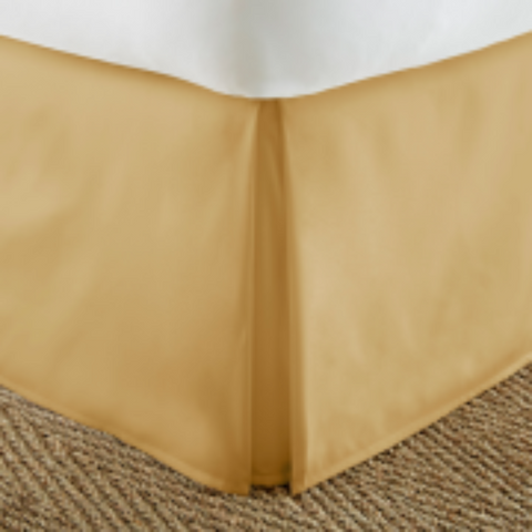 Bed Skirt Gold - Linens Wholesale