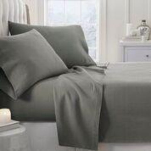 Flannel Sheets Gray - Linens Wholesale