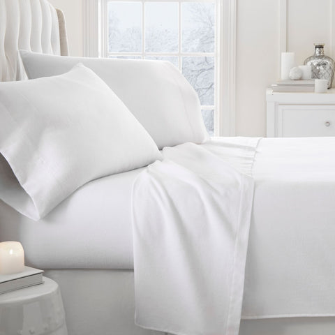 Flannel Sheets White - Linens Wholesale