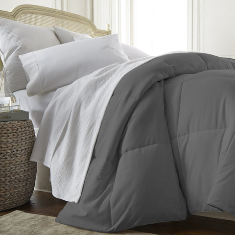 Down Alternative Comforter Charcoal